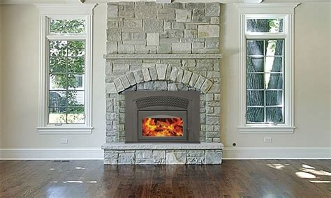 arched gas fireplace insert fireplaceinsert supreme volcano plus fireplace insert