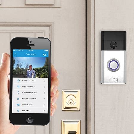 ring wi fi enabled video doorbell ring is a wi fi enabled video doorbell that you can answer