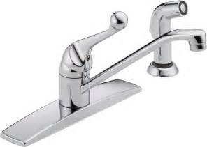 delta kitchen faucet warranty faucet 400lf wf in chrome by delta