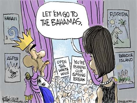 obama cartoon bahama chip bok's bokbluster