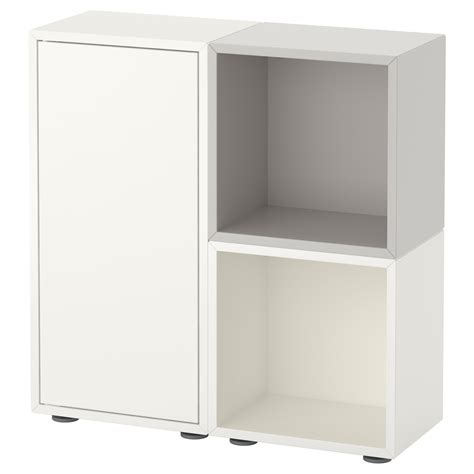 ikea eket cabinet eket cabinet combination with feet white grey 70x25x72 cm