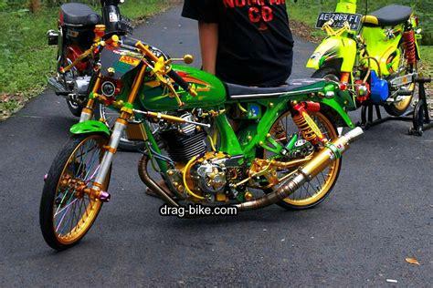 foto gambar modifikasi motor cb  terbaik kontes drag