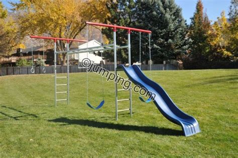 swing and slide monkey bars monkey bar t swing