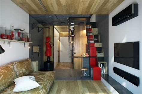studio apartment square footage weightlifter s 200 sq ft micro apartment boasts some
