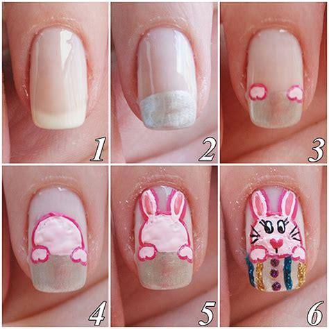 tutorial nail art pascoa unhas decoras de p 193 scoa