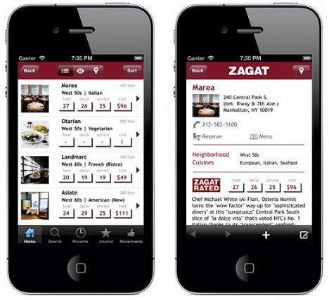 zagat for android zagat trusted ratings and reviews for restaurants nightlife hotels more for android users