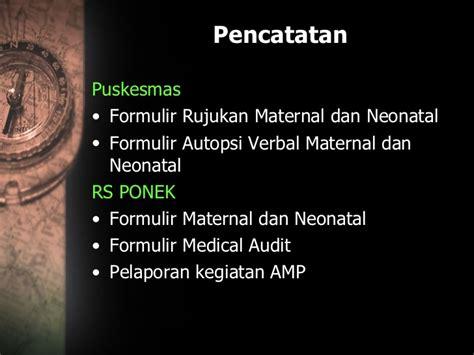 Buku Acuan Nasional Pelayanan Kesehatan Maternal Dan Neonatal 02 sistem rujukan maternal neonatal