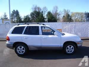 2001 Hyundai Santa Fe For Sale 2001 Hyundai Santa Fe For Sale In Eugene Oregon