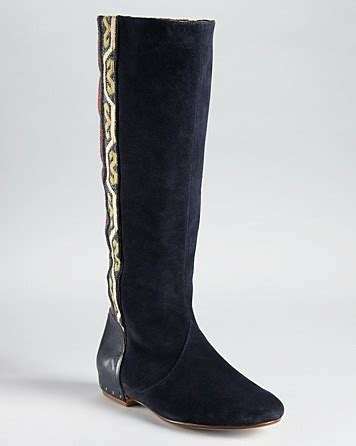 Merlon Embroided by sigerson morrison boots merlin aztec