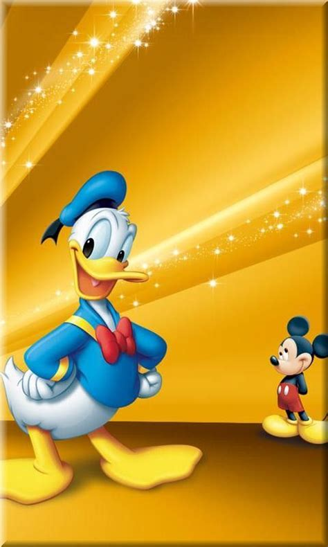 Disney Donal Duck Micky Mouse F0164 Samsung Galaxy J5 Pro 2017 disney duck and mouse mobile phone wallpapers 50 s