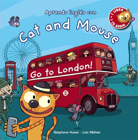 Catok And Go cat and mouse go to anaya infantil y juvenil