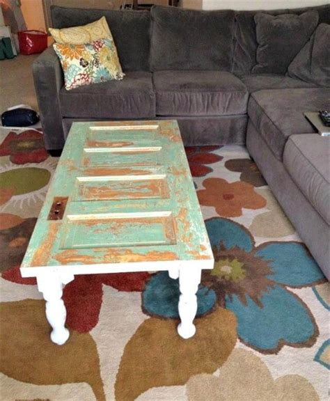 how to a door into a table diy doors turn into coffee table diy to