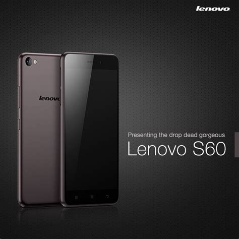 Lenovo S60 Lenovo S60 Launches In India For Inr 12 999 Techgleam