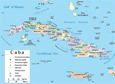 map usa cuba large map of cuba large size detailed cuba map travel