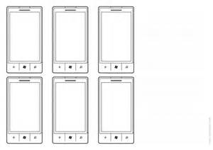free printable mobile sketching templates