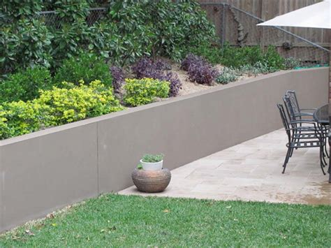 Concrete Retaining Wall Design Architectural Design Concrete Garden Wall
