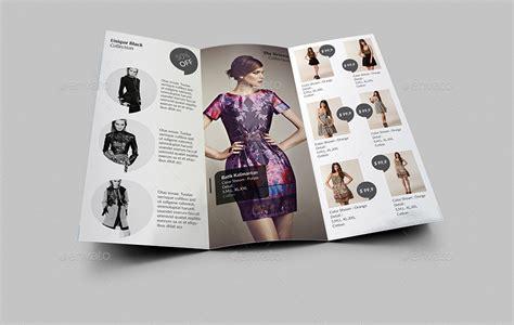 union fashion trifold brochure vol  editorialmonster