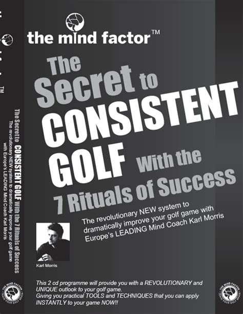 the factor unlocking the secrets the empire books the secret to consistent golf the mind factor