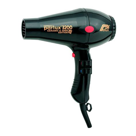 Parlux Hair Dryer parlux 3200 ceramic ionic hair dryer black the