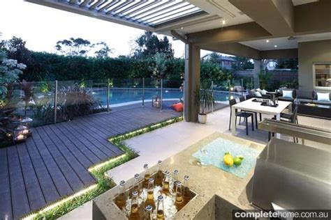 Backyard Entertaining Areas by A Designer Outdoor Entertaining Area Built To