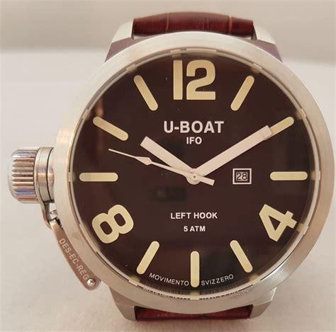 u boat watch registration u boat left hook men s watch 2005 catawiki