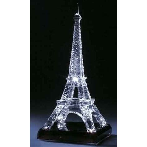 Eiffel Tower Decoration - 15 75 led lighted eiffel tower battery operated