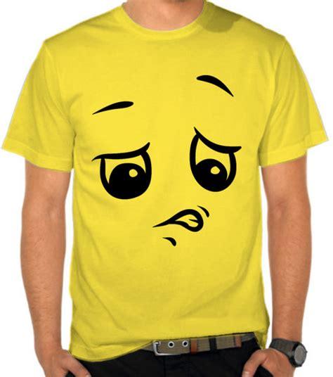 Kaos Emoticon jual kaos disgusted emoticon satubaju