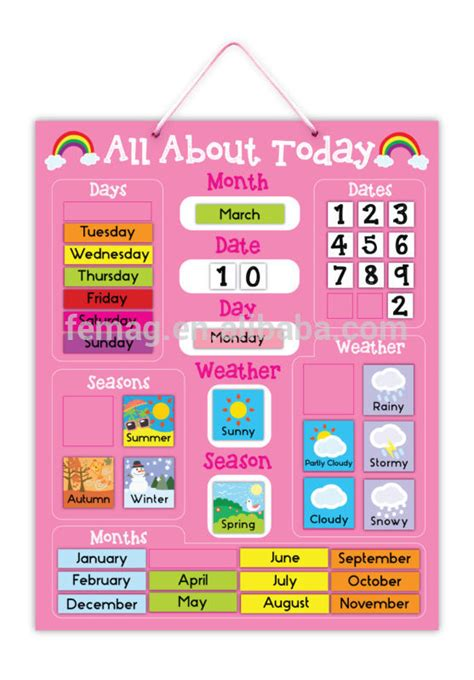 Buy Calendrier 2015 E1004 2015 New Item Learning Educational Magnetic