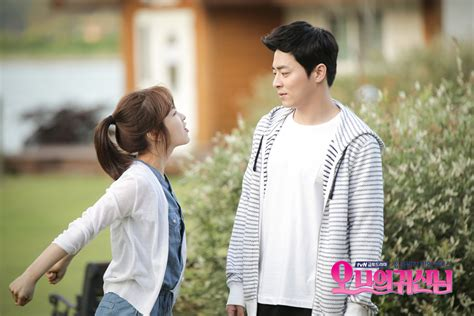 film drama oh my ghost jo jung suk says he had great chemistry with park bo young