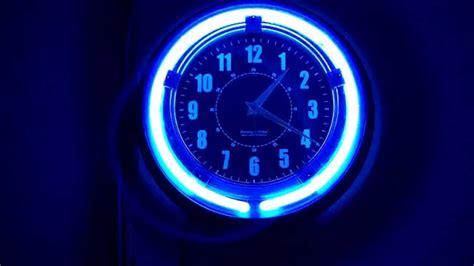 neon digital wall clock neon wall clock for inspiration wall clocks