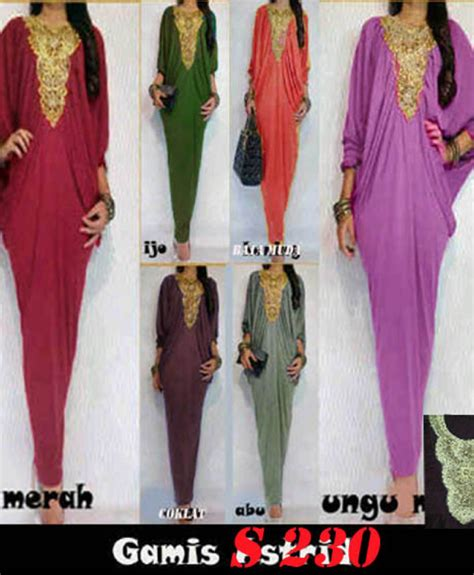 Gamis Alifa 2 In 1 Dress Baju Panjang Wanita Muslim Casual baju grosir wanita termurah dress panjang gamis moderen