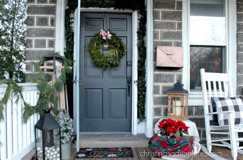 christmas front porch christmas front porch christinas adventures