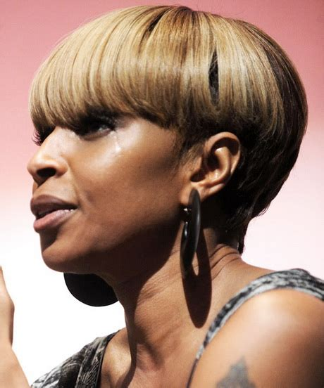 photos of black hairstyles mary j bliges sophisticated bob photos of black hairstyles mary j blige about style