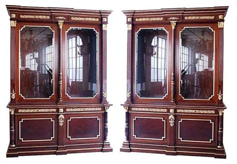 beautiful bookcases for sale beautiful pair of antique empire bookcases for sale