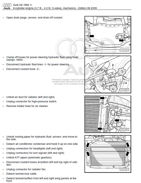 audi a8 1994 2002 repair manual factory manual