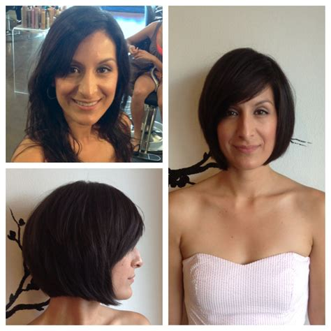 amazing before and after haircuts before and after bob haircut by us pinterest