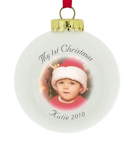 personalised christmas baubles share festive fun with
