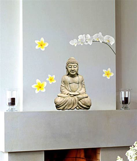 home decor snapdeal buy home decor line lord buddha wall decal best prices