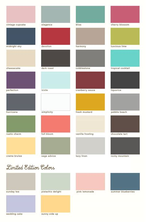reved color line new limited edition colors are here country chic paint furniture paint