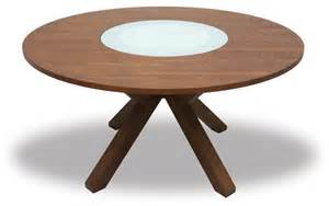 clifford lazy susan round dining table transitional