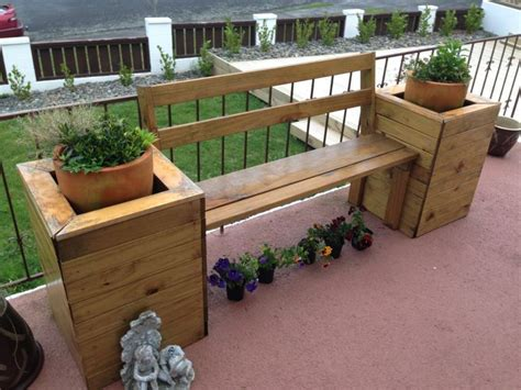 planter seat bench planter box bench seat for my mum dad xmas 2012 pressie