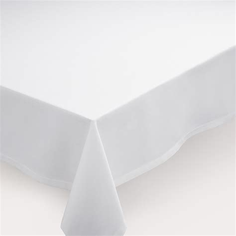white table cloth white buffet tablecloth market