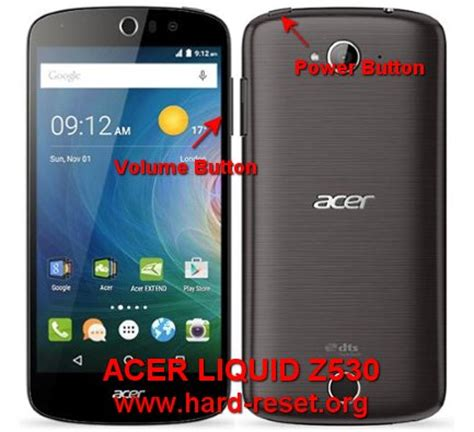 battery reset button acer laptop how to easily master format acer liquid z530 with safety