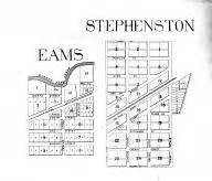 Eams Information Search Eams Stephenston Atlas Vanderburgh And Warrick Counties 1899 Indiana Historical Map
