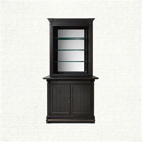 Arhaus Bar Cabinet Athens Single Bar Cabinet In Tuxedo Black Arhaus Furniture Living Room Shops