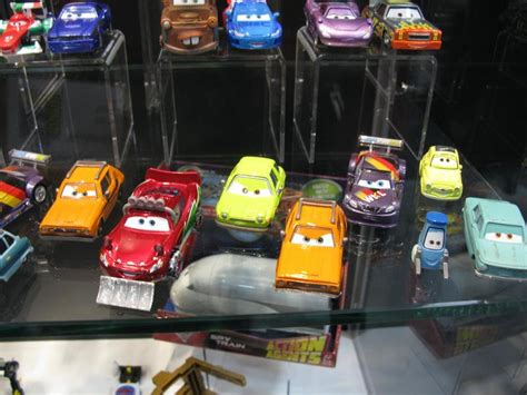 Cars Mattel sdcc 2011 mattel s booth assorted cars 2 images