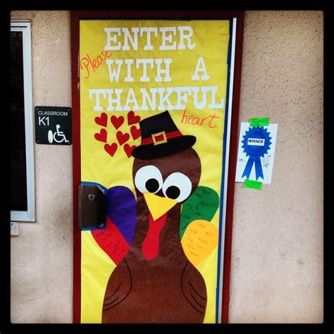 Turkey Door Decoration by Thanksgiving Turkey Classroom Door Doors