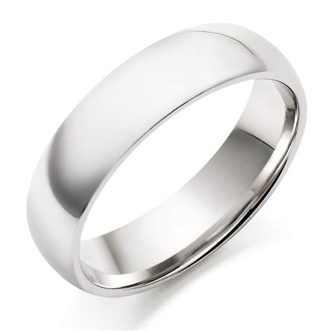 mens white gold rings wedding promise