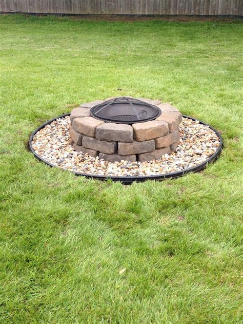 How To Build A Firepit With Pavers How To Build A Paver Pit Pit Design Ideas
