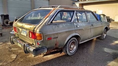 mazda rx 4 for sale parked 3 decades 1974 mazda rx 4 rotary wagon